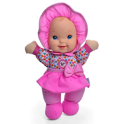 "Baby's First Giggles 13"" Soft Body Machine Washable Kisses Baby Doll for Boys and Girls 12 Months+"