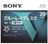 SONY ソニー ブルーレイ BD-R 1回録画用 25GB  Vシリーズ 20BNR1VLPS4 (20枚入)