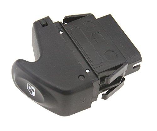 Botón elevalunas, interruptor, mando de control de ventana eléctrica para Renault Kangoo, Megane, Clio, 7700838100.