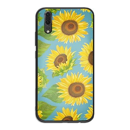 Funda For for for huawei P10 P20 2019 P8 P9 P30 Mịni LITE P Z 2018 P20 Pro case case case Case Case Case Case Case Case Case Case Cubierta de la margarita del verano Girasol floral cajas del teléfono