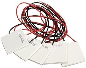 Laqiya 5PCS TEC1-12706 12V 60W Heatsink Thermoelectric Cooler Cooling Peltier Plate Module