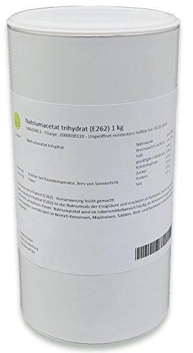 Natriumacetat trihydrat (E262) 1 kg