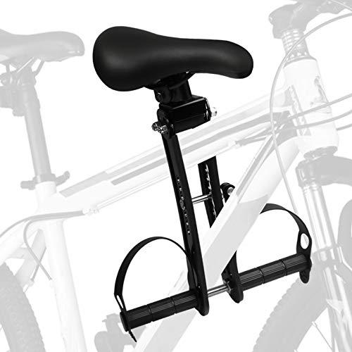HIRAWE Seggiolino Bici Regolabile per Bambino da Mountain Bike, per Bambini da 2 a 7 Anni, Compatibile con Tutti Gli Adulti MTB (Fino a 48lbs)
