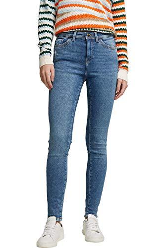 edc by ESPRIT Damen 110CC1B306 Jeans, 902/BLUE MEDIUM WASH, 29/32