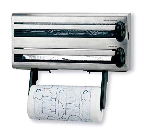 Lacor - 60701 - Portarollos Cocina Multiple Inox