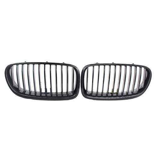 1 paar Motorkap Grille Grill Vervanging Voor BMW F10 F18 5 Serie 2010-2013 51137203649 51137203650