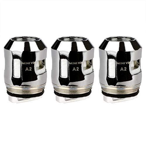 SMOK A2 Coils (0,2 Ohm), Riccardo Mesh Verdampferköpfe für e-Zigarette, 3 Stück, silber
