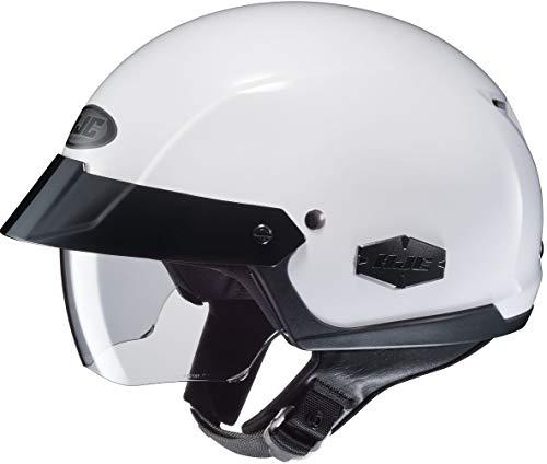 HJC is-Cruiser Solid Half Helmet White SM