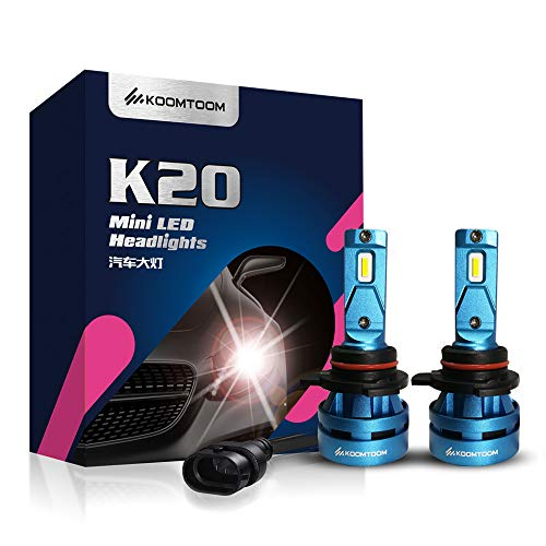 KOOMTOOM Mini Bombillas Led 9012 HIR2 Kits conversión