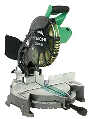 Hitachi Single Bevel Compound Miter Saw with Laser Marker
