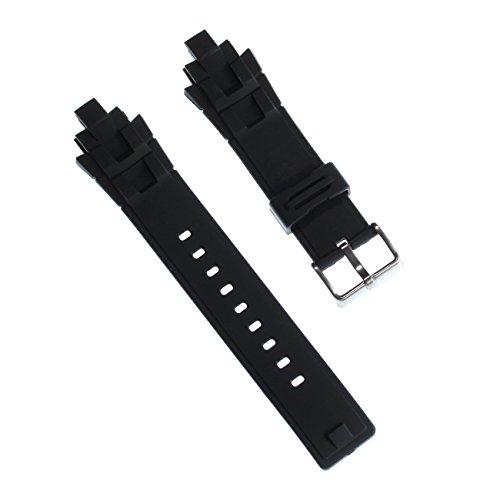 Calypso - Correa de Reloj Deportivo, Material de la Correa de Caucho, Color Negro, para Relojes Calypso K5595