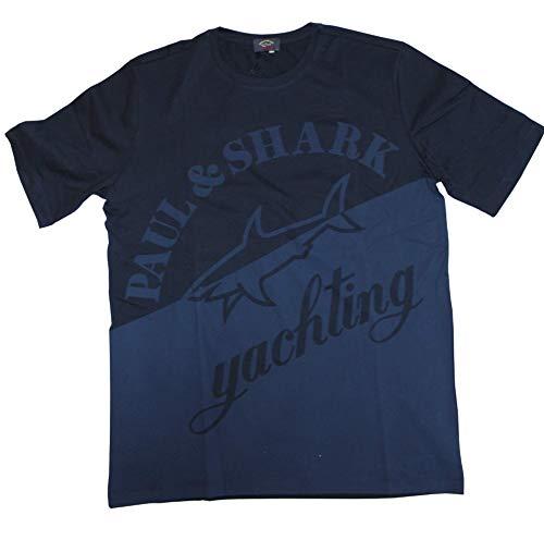Paul & Shark P&S Yachting Herren T-Shirt E18P1037 Fb. 013 (L)