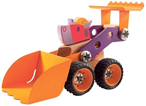 Djeco - Véhicule à construire Zooblock - Toro Bill