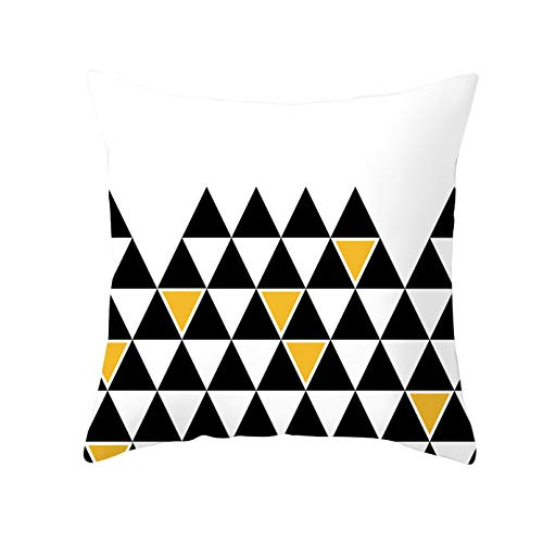 Funda cojín Funda almohada para sofá Impresión Funda almohada con impresión geométrica piel melocotón funda almohada minimalista moderna para sofá funda cojín suave para coche cojines para hogar