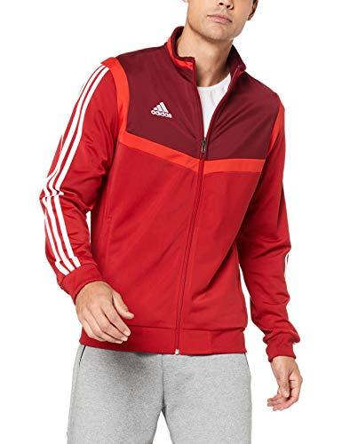 adidas Herren TIRO19 PES JKT Sport Jacket, Power red/White, XL