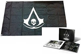 Assassin's Creed Iv Black Flag Art Book and Iconic Pirate Flag with Crest 28