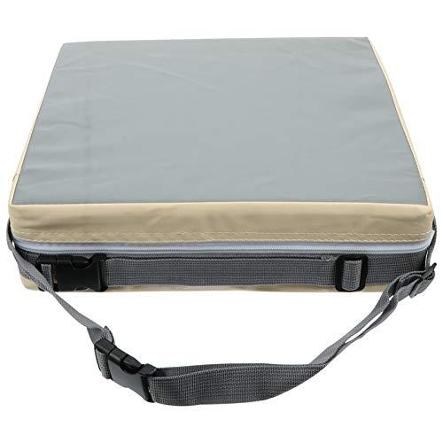 Kisangel Almofadas para cadeira de jantar infantil com assento elevador para mesa de jantar, almofada portátil para aumento de viagens