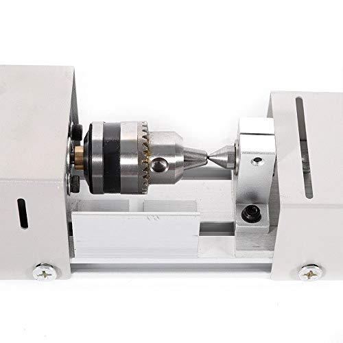 BACHIN Mini Lathe Beads Polisher Machine Diy CNC Machining for Table Woodworking Wood DIY Tool Lathe Standard Set
