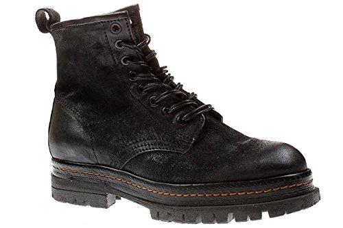 A.S. 98 509201 - Damen Schnürschuhe Stiefelette Boots - 6002-nero, Größe:36 EU