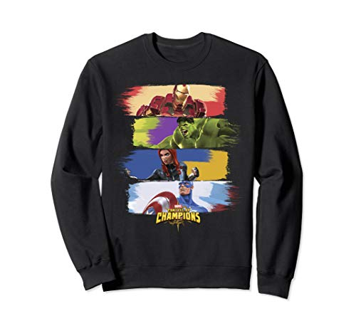 Marvel Contest Of Champions Paint Swipe Portraits Sweatshirt