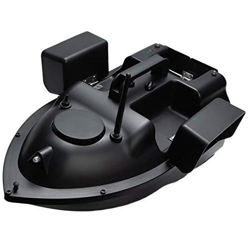 RC Cebo De Pesca De Barco Pesca , 5 Niveles de Viento y Resistencia a Las Olas 500m GPS inalámbrico Anti-Interferencia, 9600mAh Capacidad Pesca Inteligente Double Motors Pesca Bait Bo