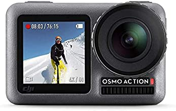 $219 » DJI OSMO Action Camera with DJI Care Refresh, Comes 128GB Extreme Micro SD, with 2 Displays, 11m Waterproof, 4K HDR Video,...