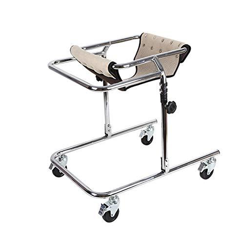 YUXINCAI Andador con Ruedas para Rehabilitación Infantil, Estructura con 4 Ruedas, Una Ayuda De Movilidad Limitada Ajustable para Niños Y Discapacitados, Adecuada para Una Altura De 80-120 Cm