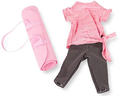 Götz 3403156 Kombination Very Sports - Puppenbekleidung Gr. XL - 4-teiliges Bekleidungs- und Zubehörset für Stehpuppen 45 - 50 cm
