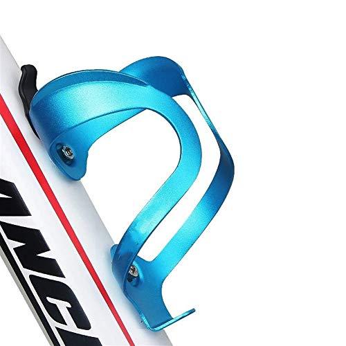 MWQCEW Botella de Bicicletas de aleación de Aluminio de la Jaula de Agua Ajustable Titular de la Botella de Aluminio de Ciclo Ultraligero del Montaje del Manillar para Viajes al Aire Libre