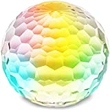 Juvale Crystal Ball Prism Sphere (3.9 x 3.7 in.)