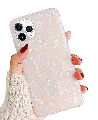 J.west Case for iPhone 11 Pro Max 6.5-inch, Cute Ultra Thin [Tinfoil Series] Macaron Color Glitter Bling Lightweight Soft TPU Protective Phone Case Cover for Apple iPhone 11 Pro Max 2019(Colorful)
