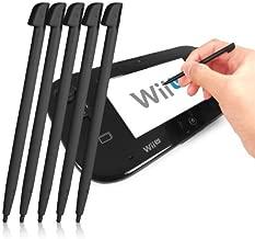 Fonem8 5 Pack Of Black Stylus Pens For Nintendo Wii U