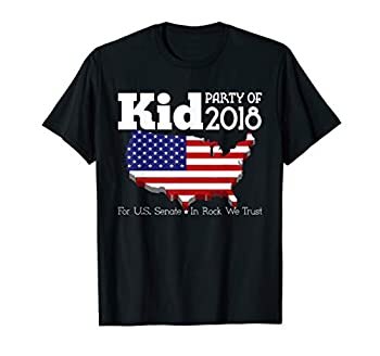 Kid For US Senate 2018 Election Shirt In Rock We Trust