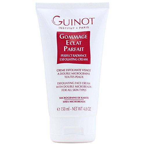 Resplandor facial por Guinot Gommage Eclat Parfait Perfect Radiance Crema exfoliante para todo tipo de piel, 150 ml