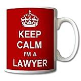 Keep Calm I'm A Lawyer Mug Cup Gift Retro by GreatDeals4you
