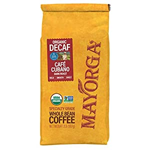 Mayorga Organics Swiss Water Decaf Café Cubano
