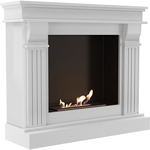 Check Out This Domadeco Boise - white traditional design bioethanol fireplace puraflame/elegant port...