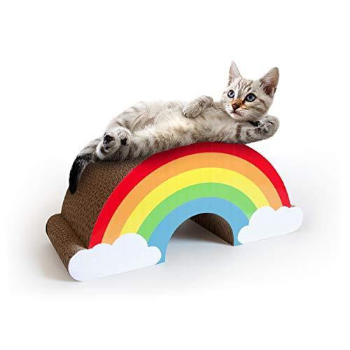 SUCK UK Kratzkatzen-Regenbogen, 600 g