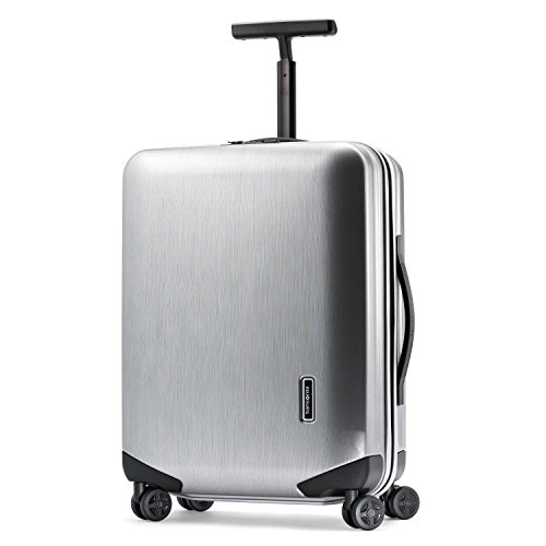 Samsonite Inova Hardside Luggage with Spinner Wheels, Metallic Silver