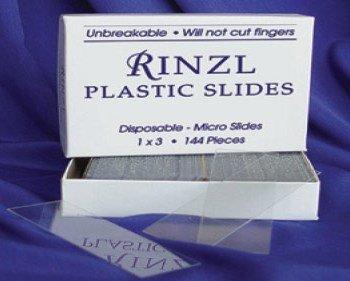 Rinzl 20305201 144 Rinzl Plastic Microscope Slides, 1' x 3'