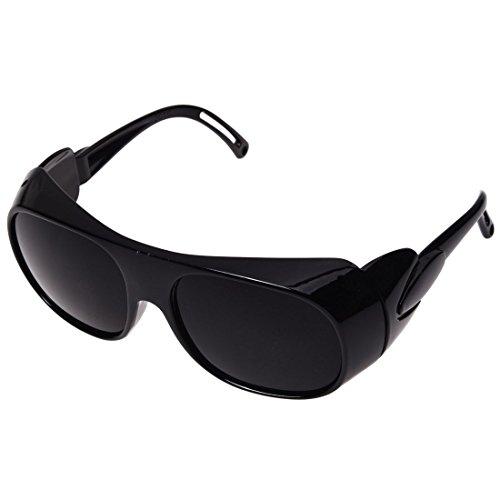 Gafas protectoras - TOOGOO(R) Gafas protectoras Gafas de patillas Gafas de proteccion laser Gafas Negro