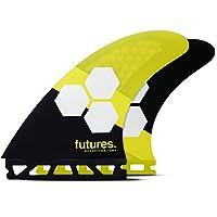 Future Fins fam2Honeycomb Thruster Set ,イエロー/ブラック