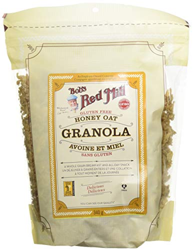 BOB'S RED MILL Granola Avoine/Miel Gf 340 g - Lot de 2