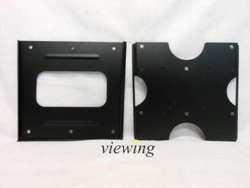 『viewing(ヴューイング) VESA規格対応 薄型 マウント テレビ壁掛け金具 モニター TV 液晶テレビ用 VMF3210B 15-32型対応 ブラック』の3枚目の画像