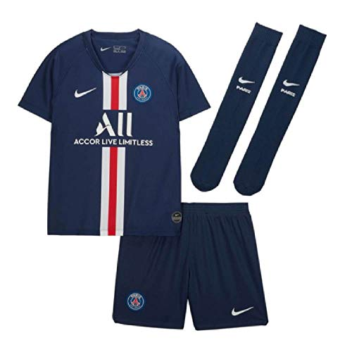 Nike 2019-2020 PSG Home Little Boys Mini Kit
