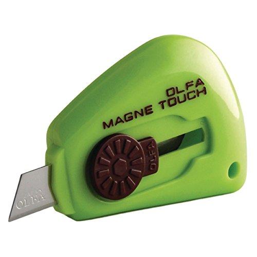 Olfa Coltello Touch Magnetico [Colori Assortiti], 1 unità