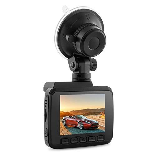 SMAA 2,4-Zoll-LCD-Bildschirm mit hoher Auflösung für Vorder- und Rückfahrkamera für Autos, Unterstützung von max. 128 GB, Driving Recorder mit Nachtsicht, Bewegungserkennung, G-Sensor