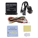 MagiDeal 1 Set Multifunction Car Automatic Headlight Control Light Sensor System ON/Off Button Universal for Car SUV 12V