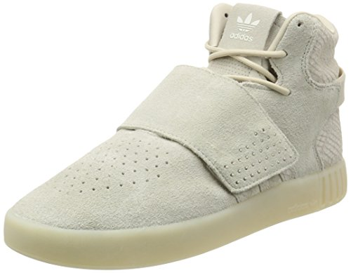 Adidas Originals Tubular Invader Strap Herren Sneakers Sportschuhe, schwarz, 45 1/3 EU