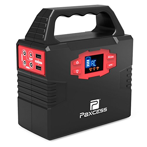 PAXCESS S320 100-Watt Portable Solar Power Generator Station